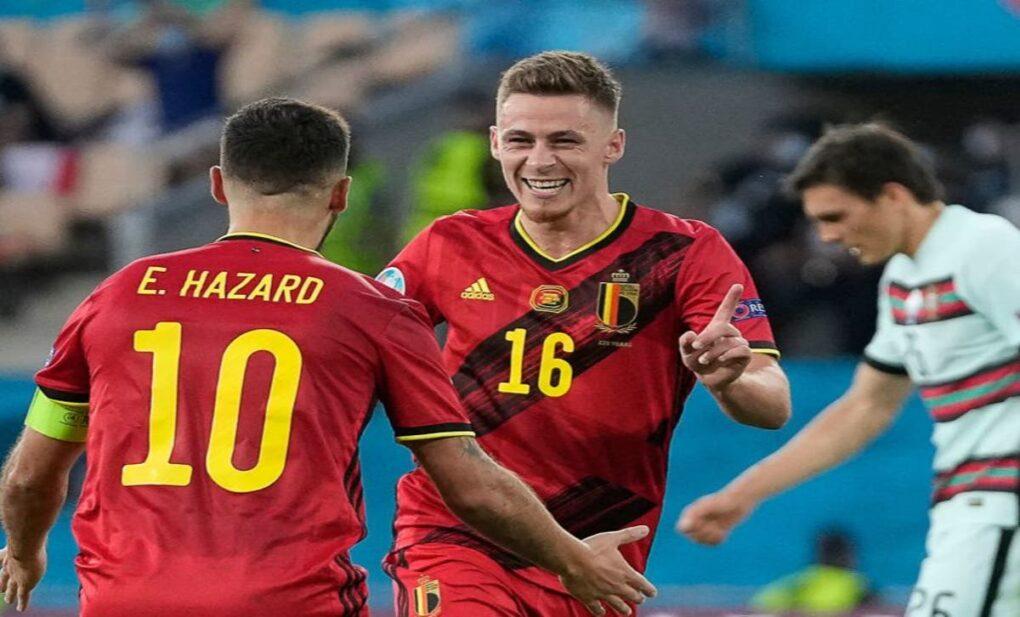 Portugal's Euro title defence turns 'Harzardous' as Belgium eliminate defending champions