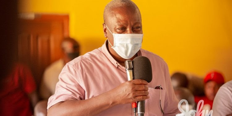 Government officials must not demonize fix the country movement – John Mahama