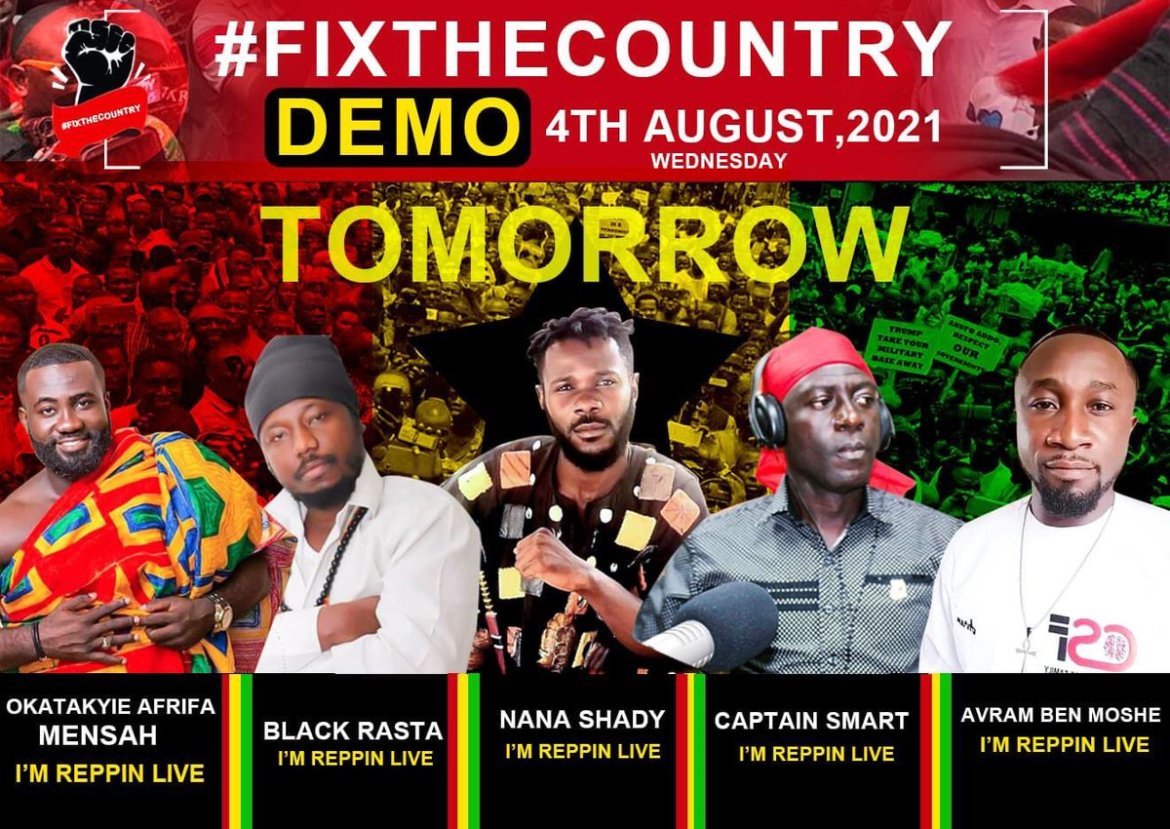 If the ancestors were alive today they would join us in this protest – Blakk Rasta