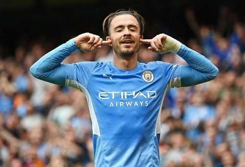 Jack Grealish scores debut goal as Manchester City trash helpless Norwich City