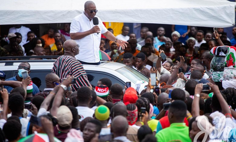 You were excluded from Parliamentary election for Akufo-Addo's interest – Mahama tells SALL