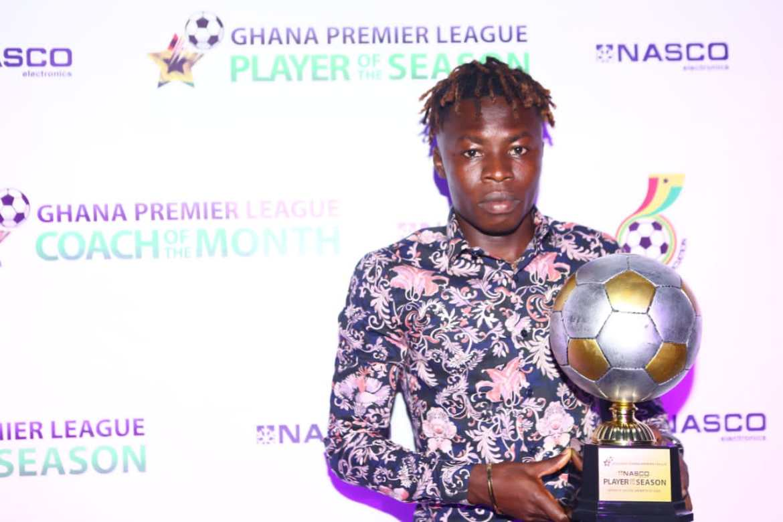 Salifu Ibrahim and Samuel Boadu bag end of season awards