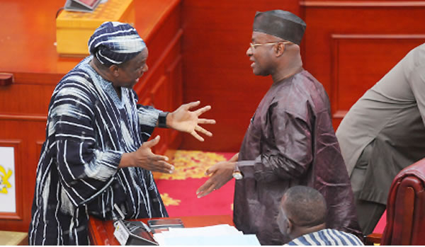 You're not an MP and cannot decide for Parliament – Kyei Mensah-Bonsu jabs Bagbin