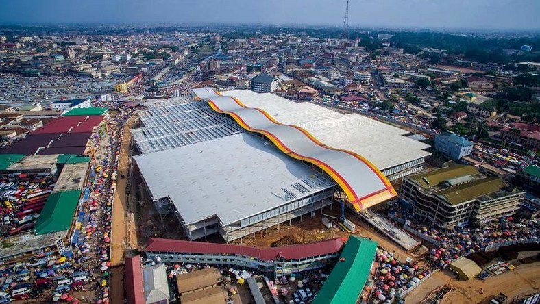 ECG leaves Kejetia market in darkness and heat, market disconnected for owing bills