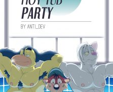 [Anti Developmnt] Naked Hot Tub Party