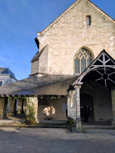 Fontevraud village church