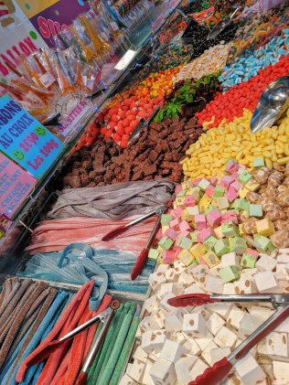 Candy at the Christmas market