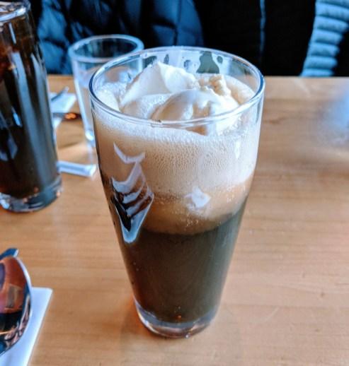 Best root beer float