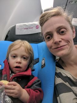 Flying to Ireland
