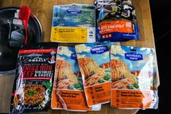 6 backpacker meals