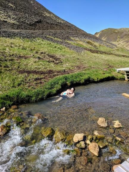Reykjadalur Geothermal River