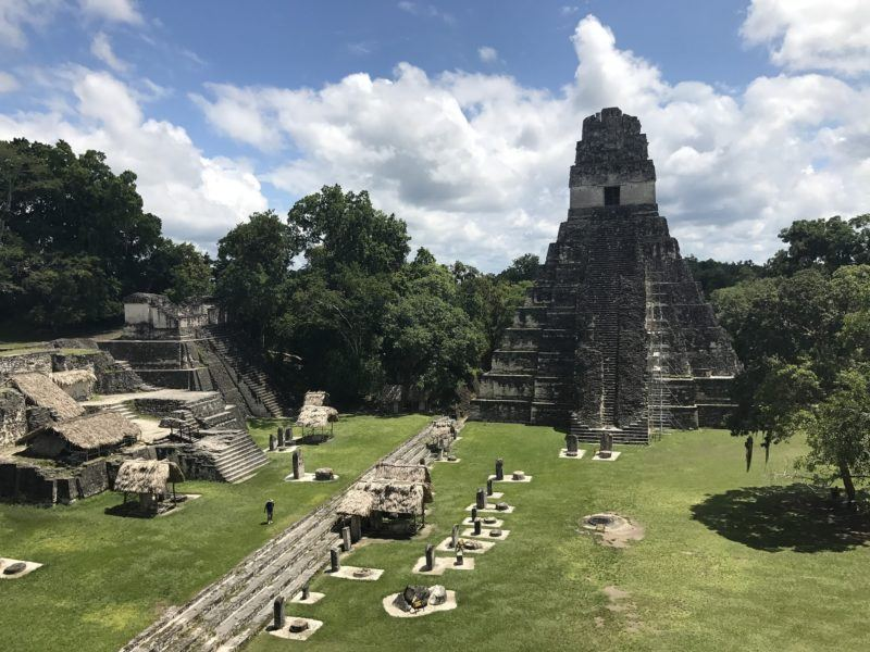 Tikan archaeological site Guatemala
