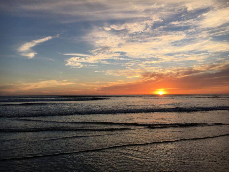 Nicaragua sunsets
