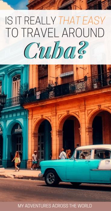 is it really easy to travel around Cuba - via @clautavani