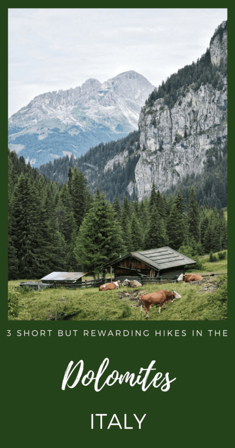 Learn about the short yet rewarding hikes in the Dolomites of Trentino - via @clautavani