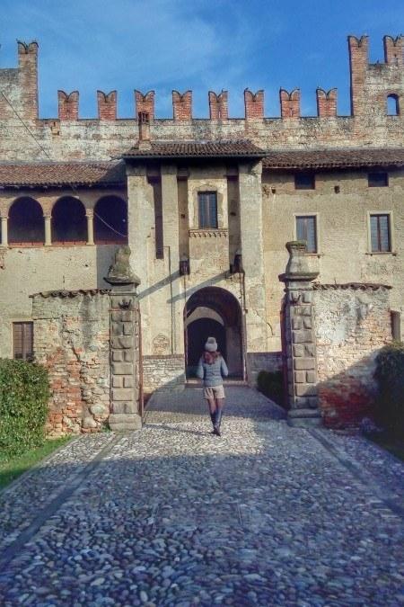 A day like a princess in Castello di Malpaga