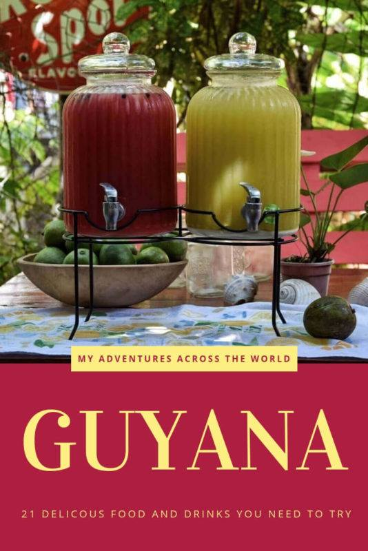 Find out all the Guyanese food you should try when visiting Guyana | Guyana Travel | #food #southamerica via @clautavani