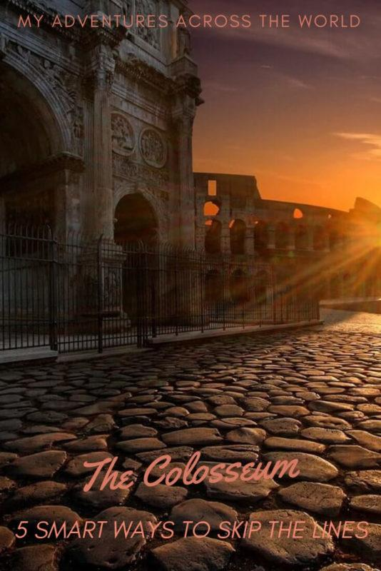 Discover 5 smart ways to skip the lines to the Colosseum and make the most of it - via @clautavani