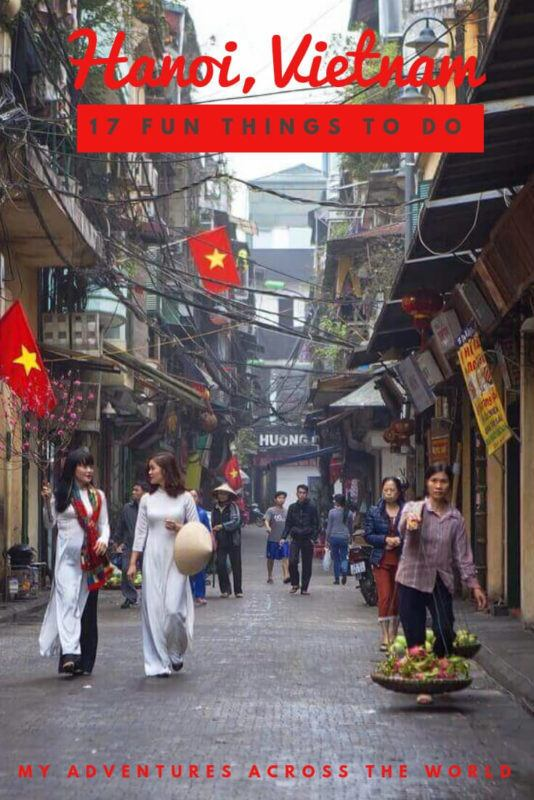 Discover 17 incredible things to do in Hanoi, Vietnam - via @clautavani