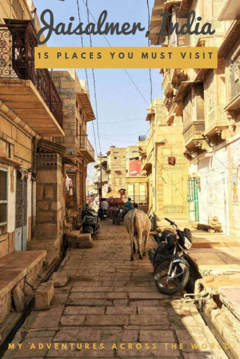 Discover the nicest places to visit in Jaisalmer - via @clautavani