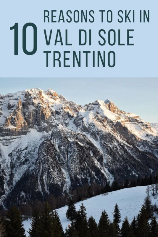 Discover 10 excellent reasons to ski in Val di Sole - via @clautavani