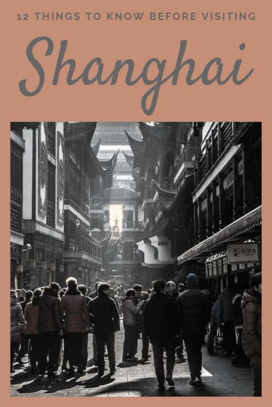 Read what you need to know before you visit Shanghai - via @clautavani