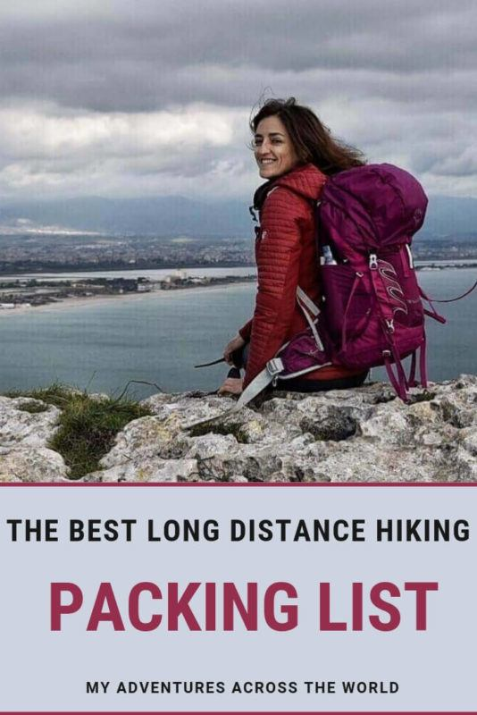Discover what to include in your long distance hiking packing list - via @clautavani