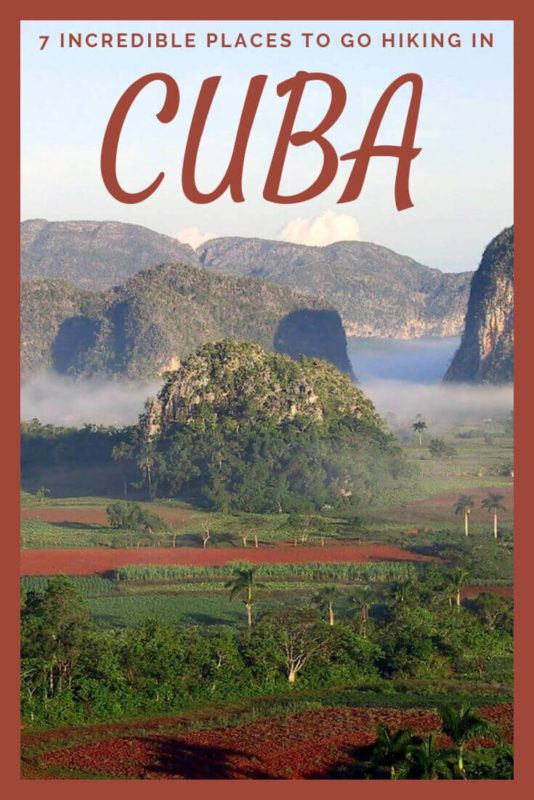 Discover the best places to go hiking in Cuba - via @clautavani