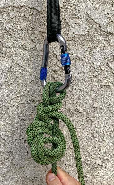 munter mule canyoneering anchor