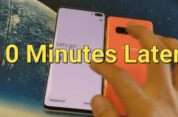 Reset Samsung Galaxy S10 Password