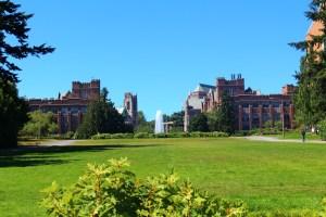 Photo from Campus Tour of University of Washington