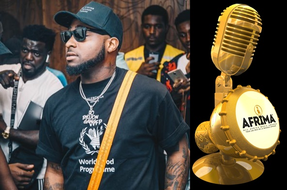 Ghana / Davido meilleur artiste de l'année aux AFRIMA 2018