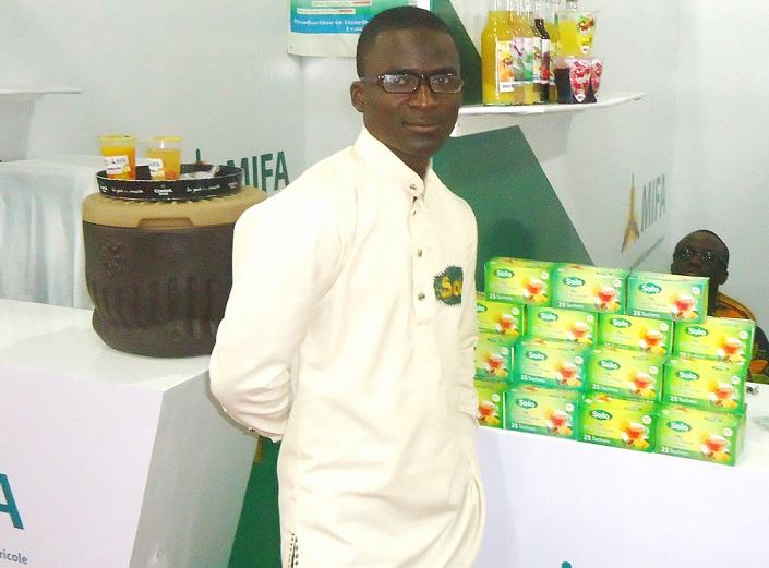 """Togo/ Avec """"GI Infussion"""", Tiem Nampoug, propose du  thé et de la technologie"""