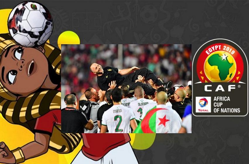 CAN 2019/ L'Algérie sur le toit du football Africain !