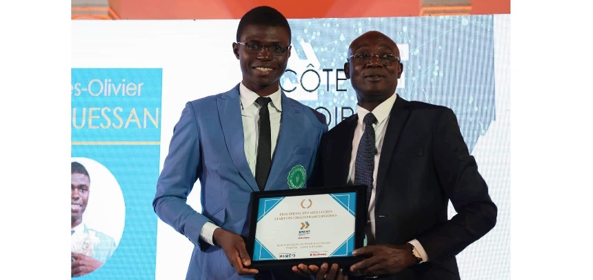 Côte d'Ivoire / Koffi Jacques N'Guessan: Prix international meilleure start-up green francophone 2019