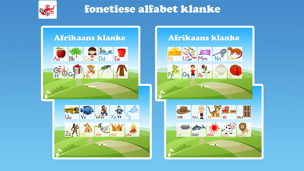 Afrikaans ABC Alphabet Phonics 92