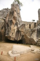 Temple of the Condor. Its head is carved in the stone on the ground while the natural rock formation behind forms its wings. Revered as a symbol of power and majesty.
