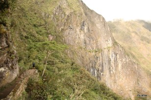 The path to the Inca Bridge.