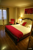 Our room, which I spent more time in getting over altitude sickness than I had hoped.