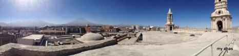 Panoramic view from rooftop of La Catedral