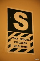 """""""Secure area in case of earthquakes"""""""