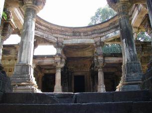 Inside dom of Shivmandir (Temple)