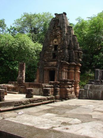 Old Temple in Polo forest