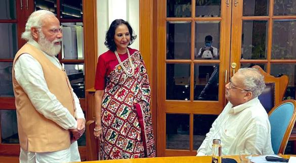 Rekha Jhunjhunwala Patola Saree