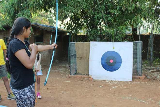 Archery at Bakor Camp Site