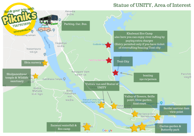 Statue of Unity Tourist Spots
