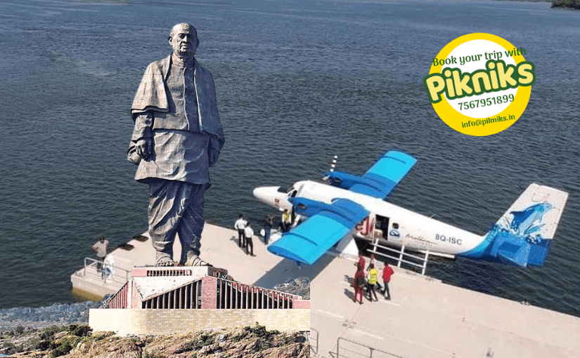 Sea plane Statue of Unity One Day Package