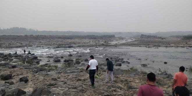Mahi River near Savli