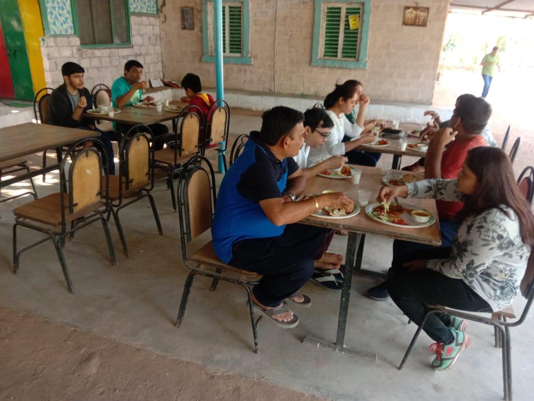 Lunch area in Mayur Rathod Campsite Polo