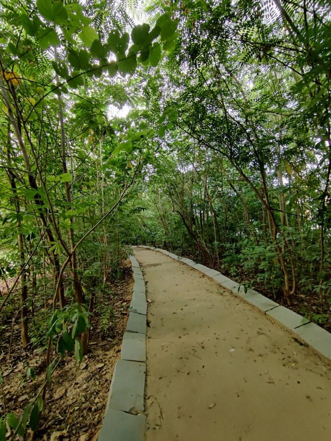 Walk way in ahmedabad oxygen park